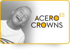 ACERO ES WHITE CROWNS